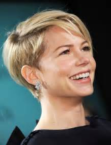 Simple short hairstyles for women michelle williams short haircut jpg
