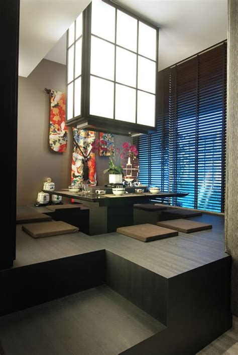 Traditional Japanese Dining Room by 1000 Afbeeldingen Interior Design Op