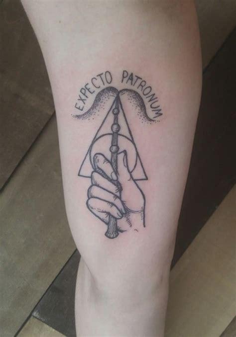 harry potter tattoo tumblr expecto patronum