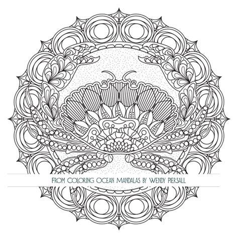 Coloring Ocean Mandalas is Here ? Preview the Book