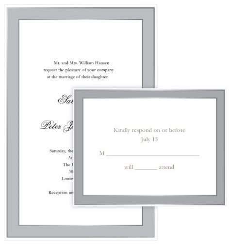 gartner studios templates gartner studios border wedding invitation kit