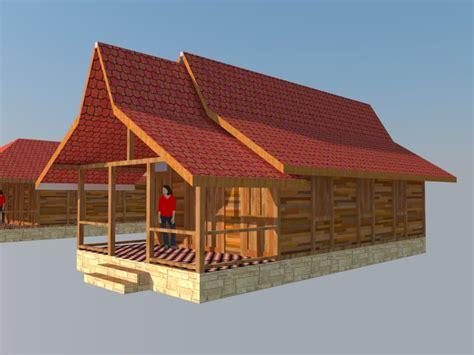 layout rumah limasan gambar gambar rumah joglo sederhana jawa desain teras