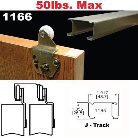 bypass cabinet door hardware 1166 sliding bypass door hardware johnsonhardware com