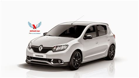 renault sandero black dacia sandero rs wearing renault badges rendered