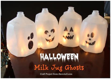 kids halloween craft cute ghost milk jug easy 25 fantastic halloween kids craft ideas