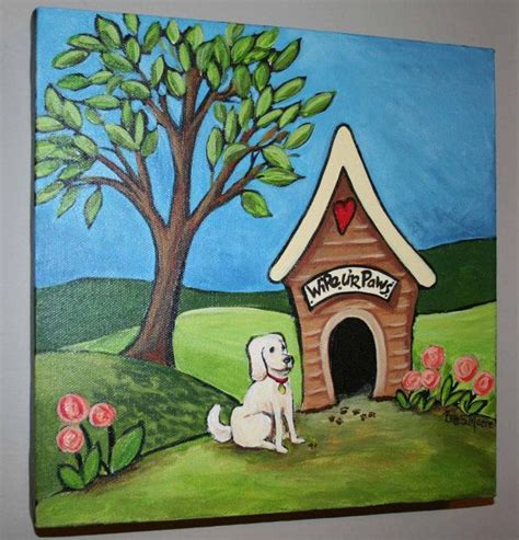 painted dog houses 13 best images about whimsical art on pinterest a tree red front doors and originals