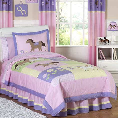 pretty pony comforter set comforters and comforter sets