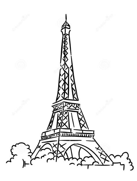 france eiffel tower coloring page eiffel tower coloring pages 360coloringpages