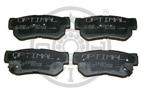 Brake Pad Hyundai Trajet 2 0 00 Up Santa Fe 2 5 00 Up Rr Fullset brake pad set disc brake rear 25 00 skruvat
