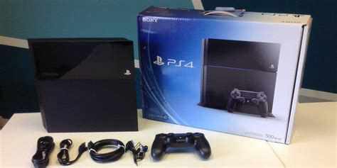 sony playstation 4 console sony playstation 4 console 500gb black ps4 product details