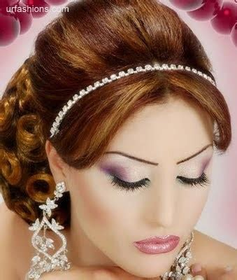 latest bridal hairstyles in pakistan 2013