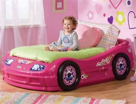 pink car bed awesome beds that every kid wants