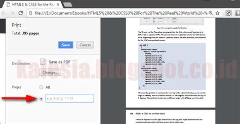 membuat nomor halaman pada file pdf cara memisahkan file pdf di google chrome