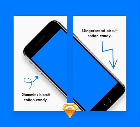 app store screenshot template app store screens preview for sketch freebiesui