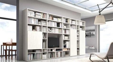 librerie a parete componibili libreria legno fai da te