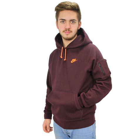 Sweater Hoodie Nike Bwh nike aw77 fleece hoody sweater hoodie sweater ebay