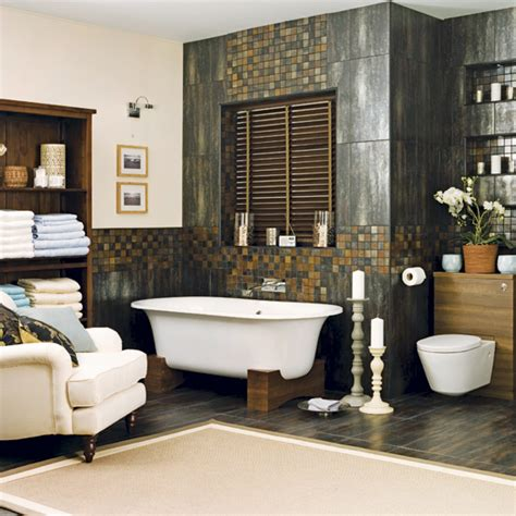 spa bathroom decor ideas spa style bathroom stylehomes net