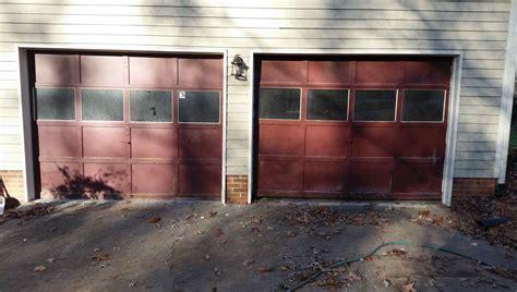 Garage Door Upgrade Nc Garage Door Replacement Residential