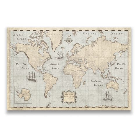 travel map with pins world travel map pin board w push pins rustic vintage