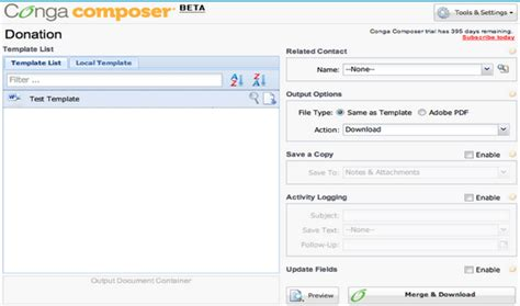 conga composer template builder conga composer 8 features coming soon arkus inc