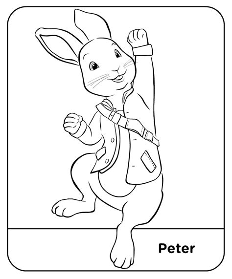 peter rabbit coloring pages nick jr coloring pages peter rabbit 06 ting med b 248 rnene