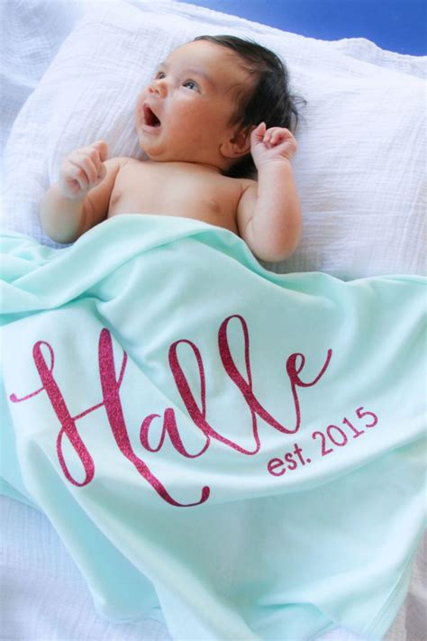 Blanket With Baby Name by Personalized Baby Blanket Only 19 99 Retail 45 Deal