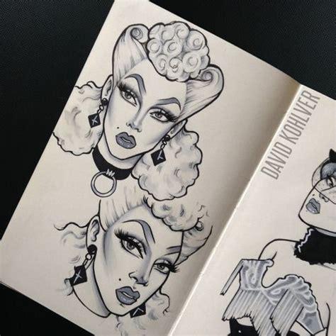 drag queen tattoo fixers mejores 572 im 225 genes de art en pinterest veinti 250 n