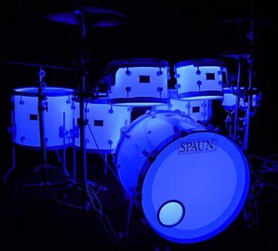 drum set led lights spaun drums led lighted acrylic drum kit audiofanzine