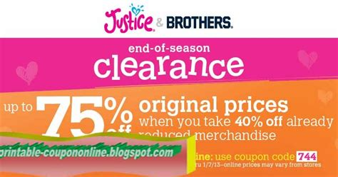 printable justice coupons 2017 printable coupons 2017 justice for girls coupons