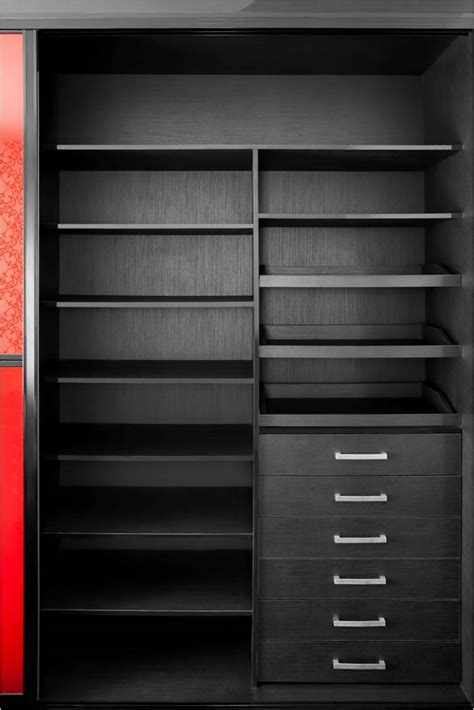 Black Closet by Closets Spacesolutionsaz
