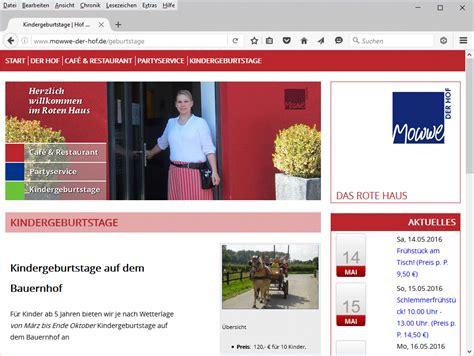 Rotes Haus Dortmund bauernhof mowwe das rote haus kindergeburtstag dortmund