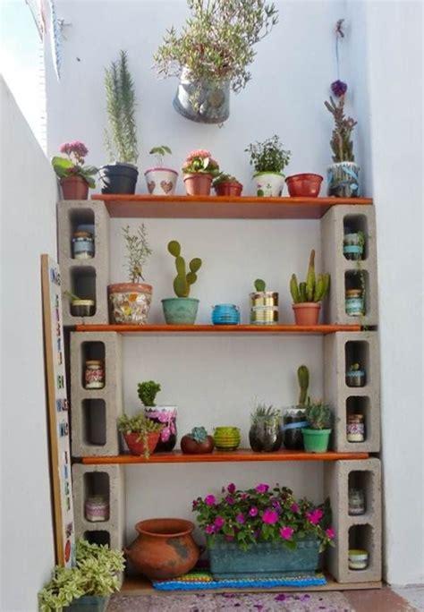 estantes para plantas ideas macetas y estanterias para