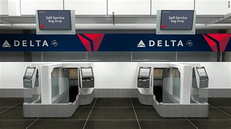 Delta Background Check Delta Kiosk Checks Your Before You Check Your Bag May 15 2017