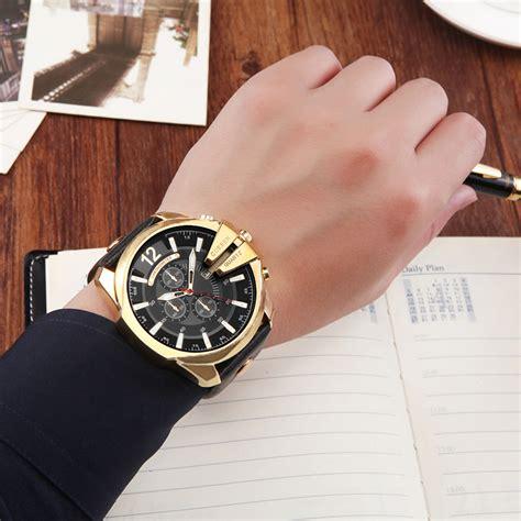 Jam Tangan Pria Cowok Curren Crn03 Blue Black 59rb Da curren retro wrist