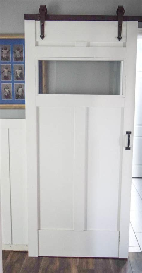Diy Sliding Barn Door Our House Now A Home Barn Door Tutorial