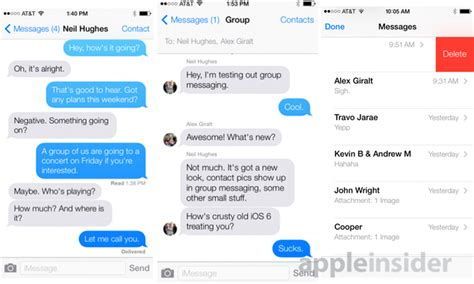 change layout messages iphone inside apple s ios 7 details on the new features of your