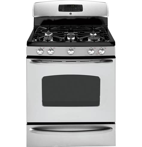 gas range with warmer drawer ge 174 30 quot free standing gas range with warming drawer