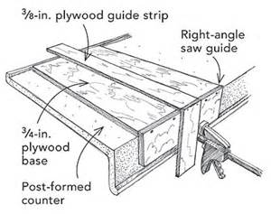 How Do I Cut A Laminate Countertop by Cutting Laminate Countertops Doityourself Community Forums