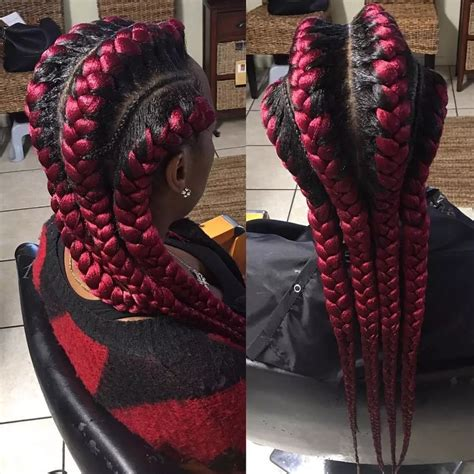 hair with small braids unserneath latest brazilian wool hairstyles in nigeria information