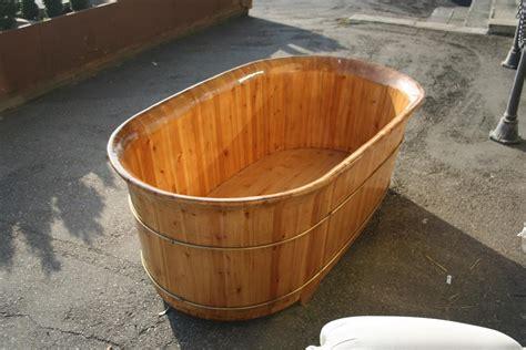 vasca da bagno in legno oggettistica da negozio vasca in legno