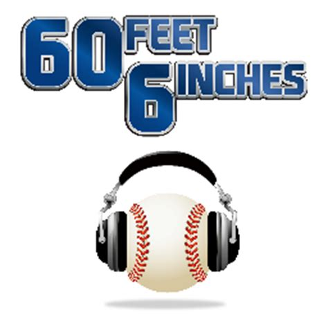 how many feet is 90 inches 60 feet 6 inches 60ftpodcast twitter