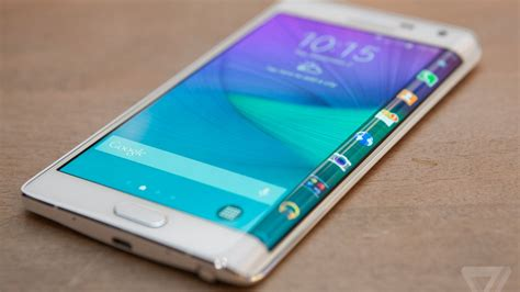 Samsung Note Edge samsung s galaxy note edge has a display that one side the verge