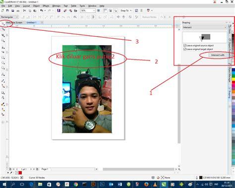tutorial corel draw pemula tutorial corel draw untuk pemula part 1