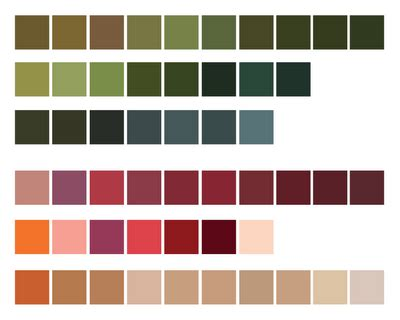 buy palette of nature color nature color palettes sage color pallets and design color