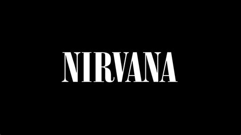 full hd wallpaper nirvana logo dark desktop backgrounds