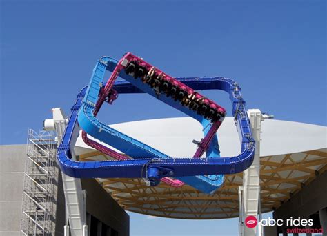 theme park rider the tourbillon a theme park ride that twists riders with