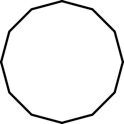 sided polygon clipart