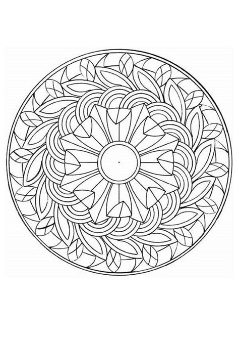 challenging mandala coloring pages intricate coloring pages difficult level mandala