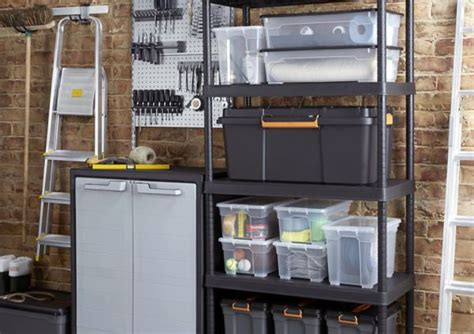 Garage Storage Systems B Q Storage Solutions Storage Systems Containers Diy At B Q