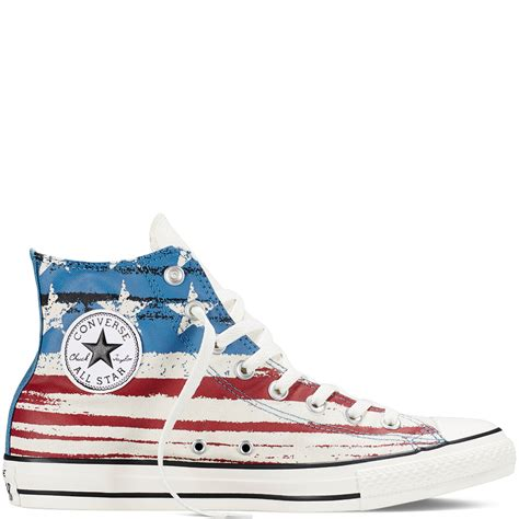 Converse Color Chili chuck all us flag print converse us
